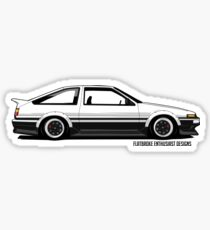 Toyota Sprinter Trueno Diseño e ilustración: Pegatinas