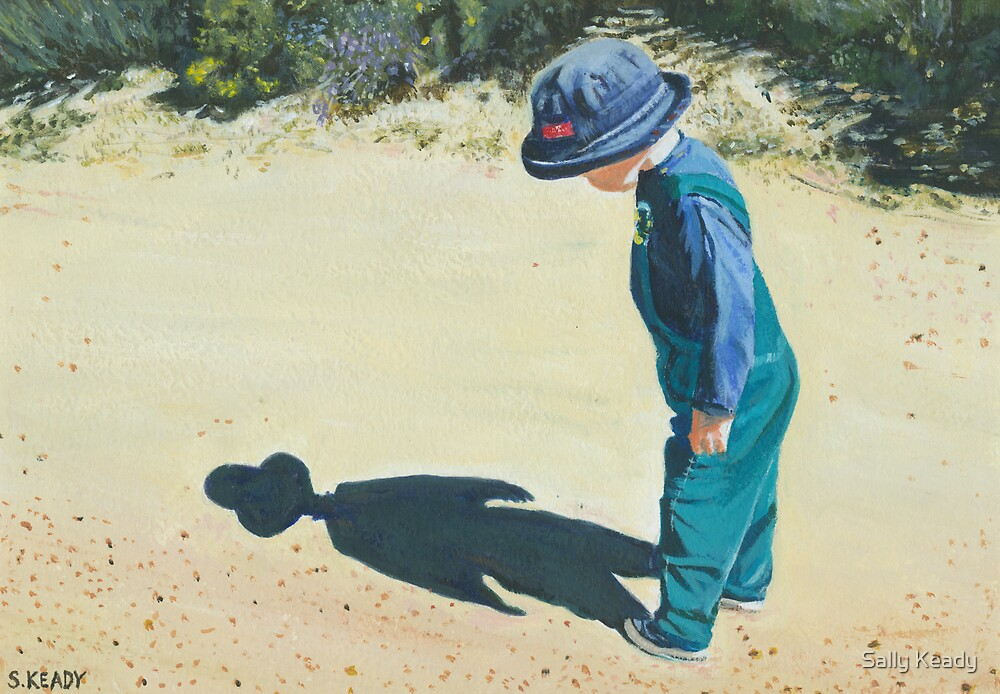 Me and my shadow by Sally Keady  Redbubble