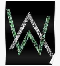 alan walker logo posters