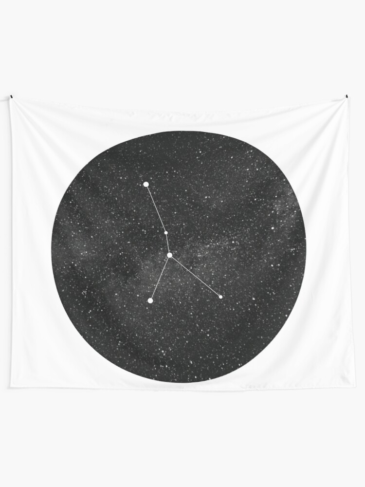 cancer constellation wall tapestry