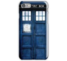 Doctor Who Tardis Phone Case iPhone Case/Skin