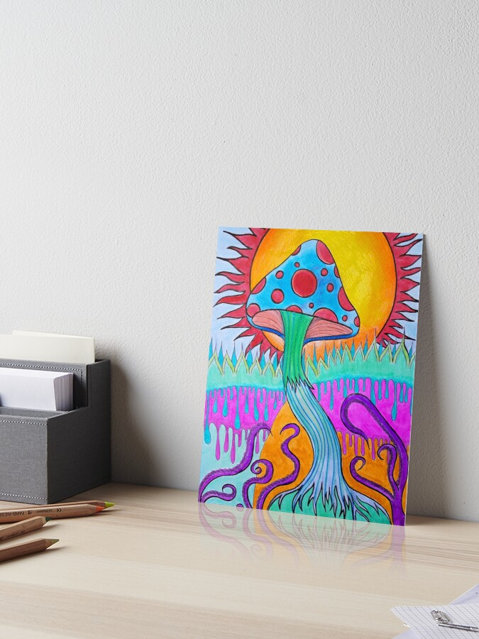 Psychedelic Trippy Paintings Easy Arte Inspire