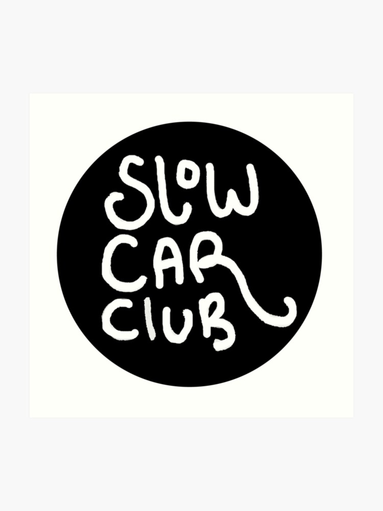 slow car club logo