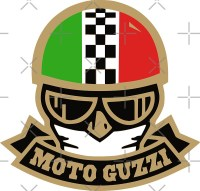 """Moto Guzzi Caf Racer DECAL"" Stickers by Nwar 