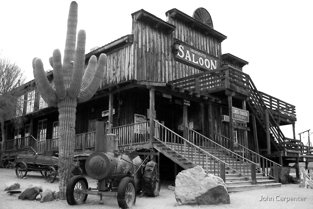 Old West Saloon Arizona by John Carpenter  Redbubble