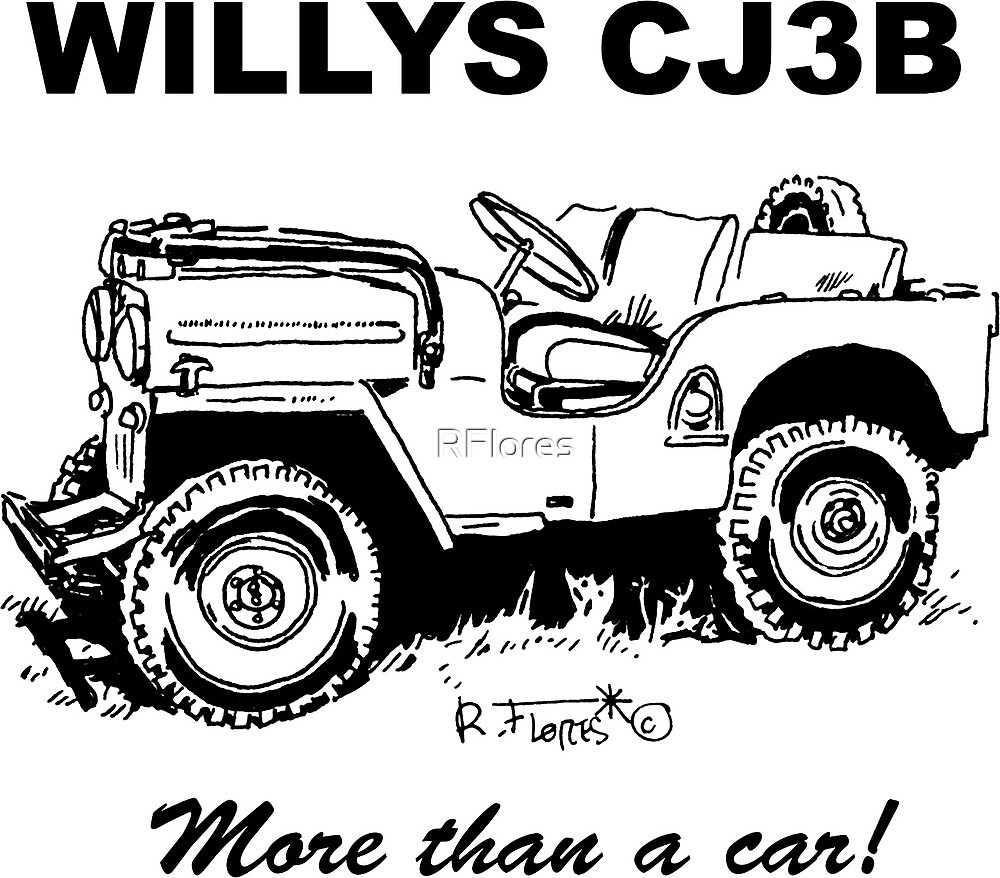hight resolution of willys cj3b jeep 1 by rflores