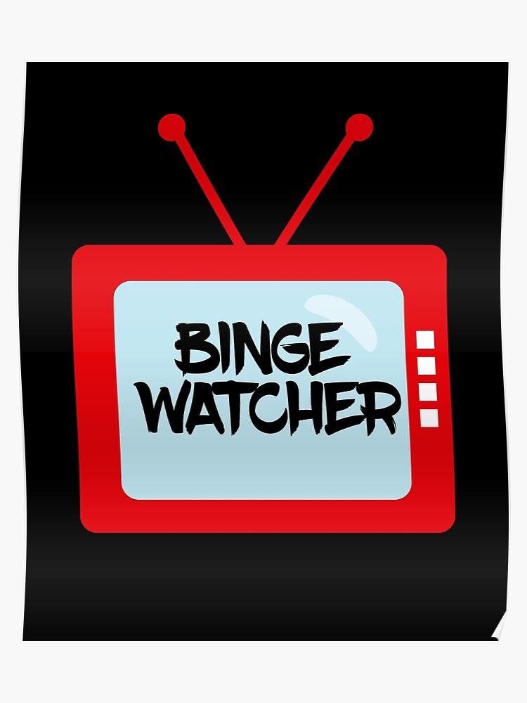 binge watcher vintage television