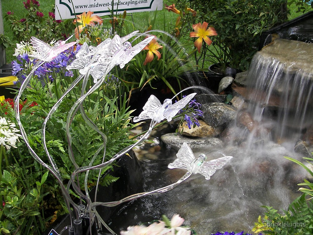 Sprinkle Lights as Pond Spitters  by SprinkleLights