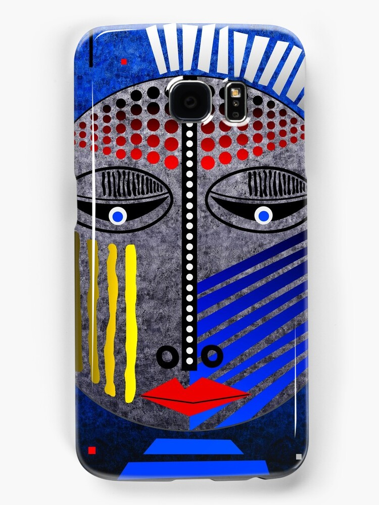 'Tribal Whimsy 12' Samsung Galaxy Case/Skin products by renowned vagabond fine art travel photographer, Glen Allison