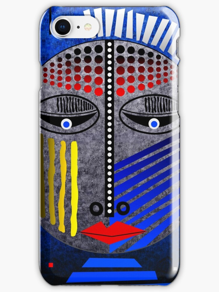 'Tribal Whimsy 12' iPhone Case/Skin products by renowned vagabond fine art travel photographer, Glen Allison