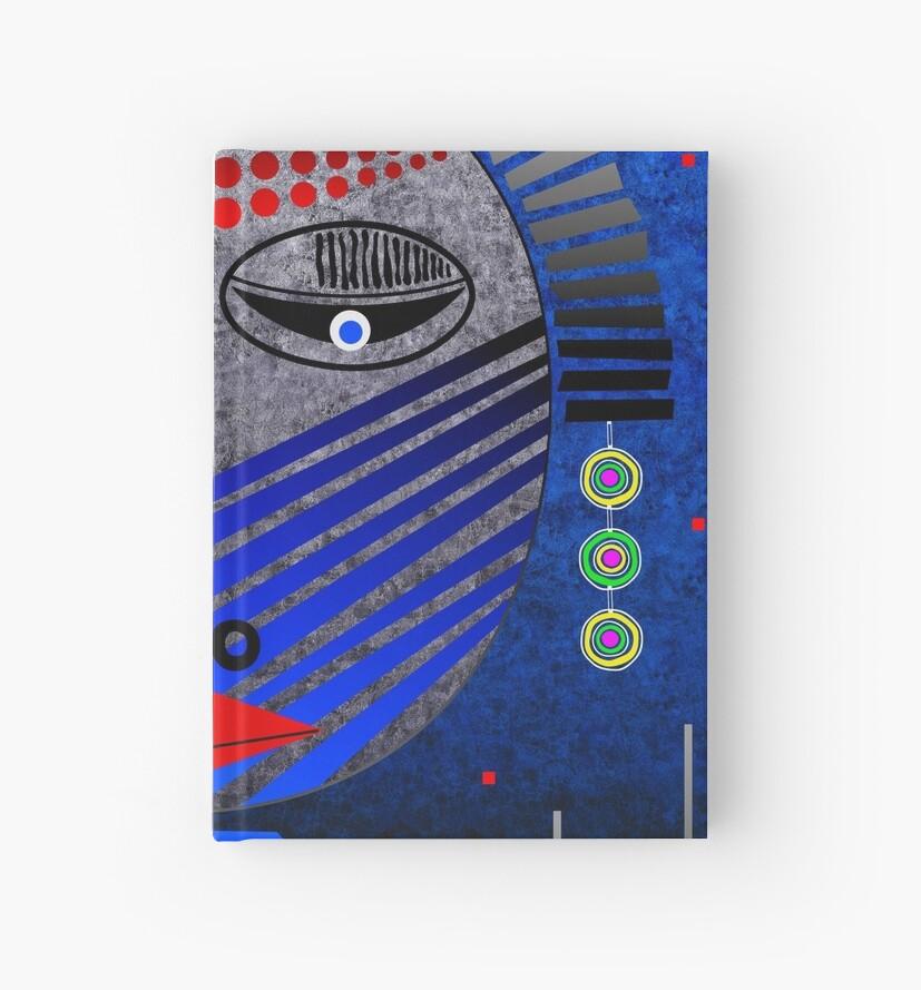 'Tribal Whimsy 12' Hardcover Journal by Glen Allison