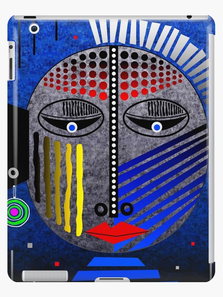 'Tribal Whimsy 12' iPad Case/Skin by Glen Allison