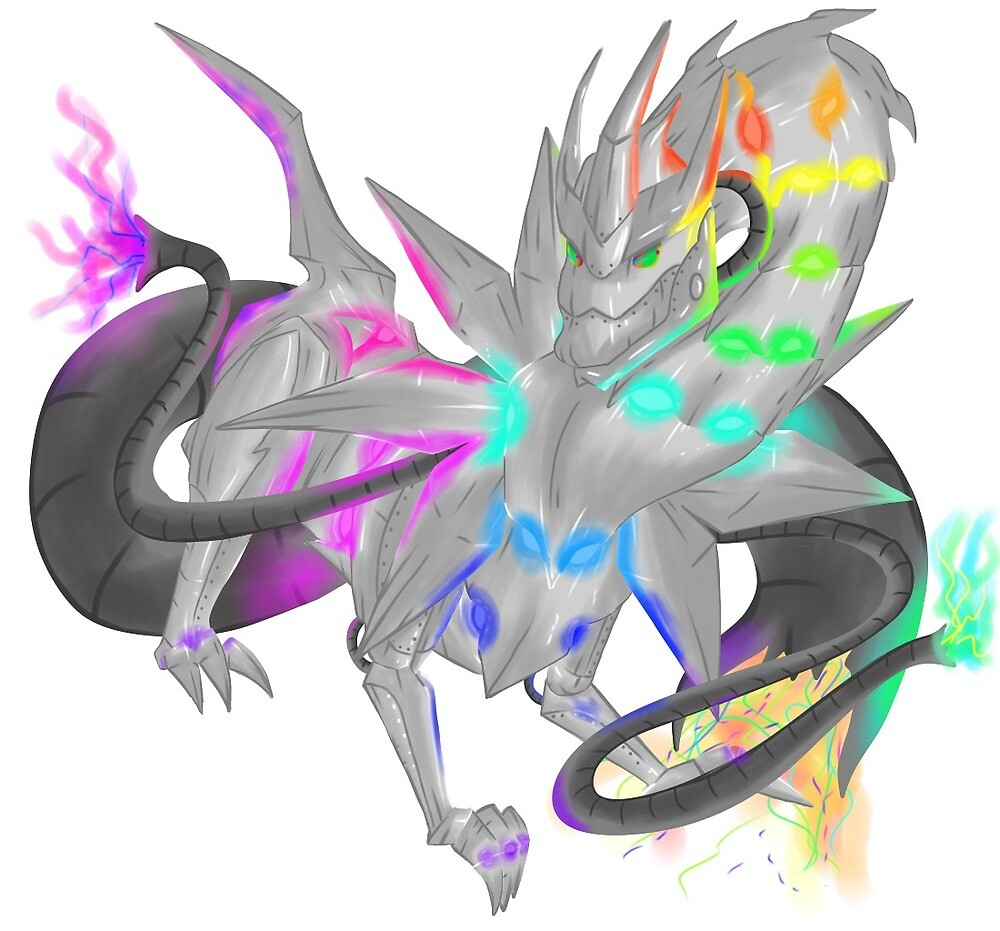 elemental dragon of steel