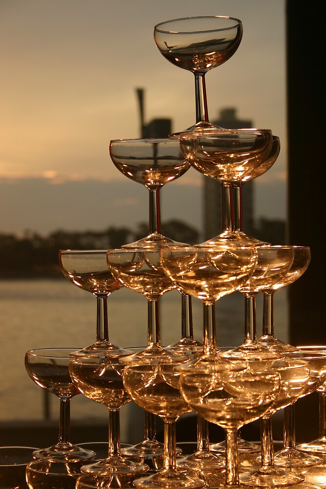 """""""Champagne Tower"""" By Andrew Mammoliti Redbubble"""