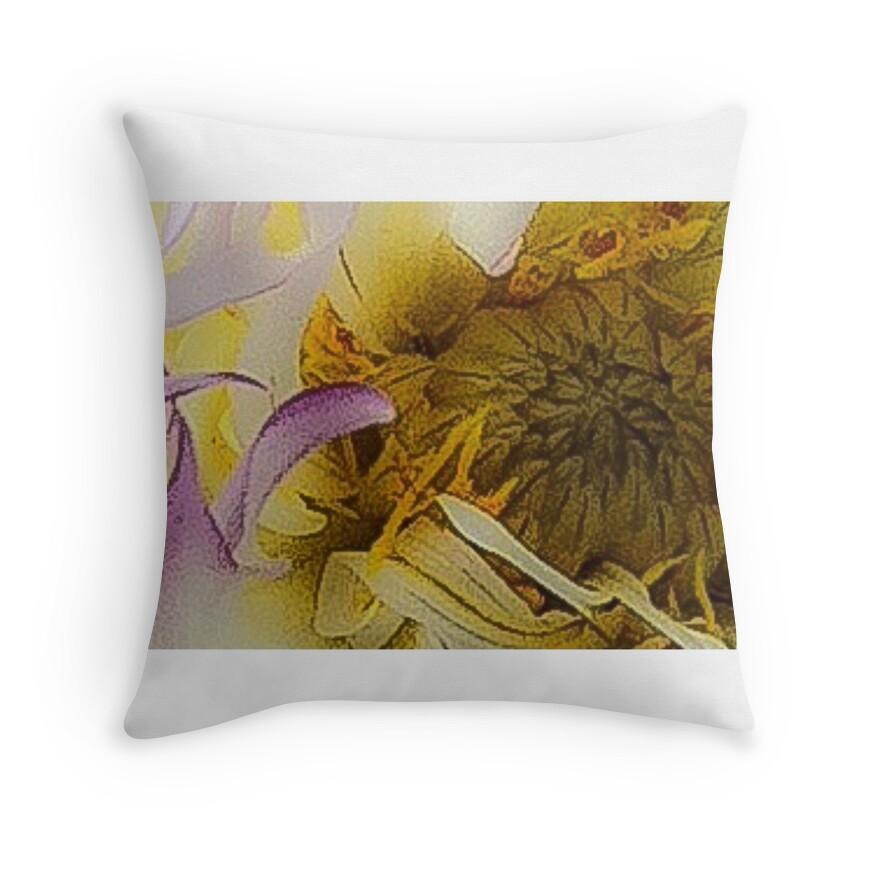 Michaels Dahlia Throw Pillows by Claudia Watkins