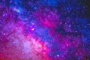 """""""purple pink blue galaxy stars"""""""