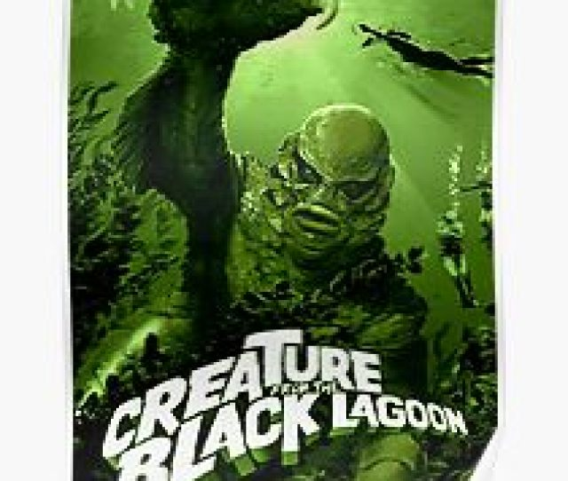 Poster Creature From The Black Lagoon Classic Monster