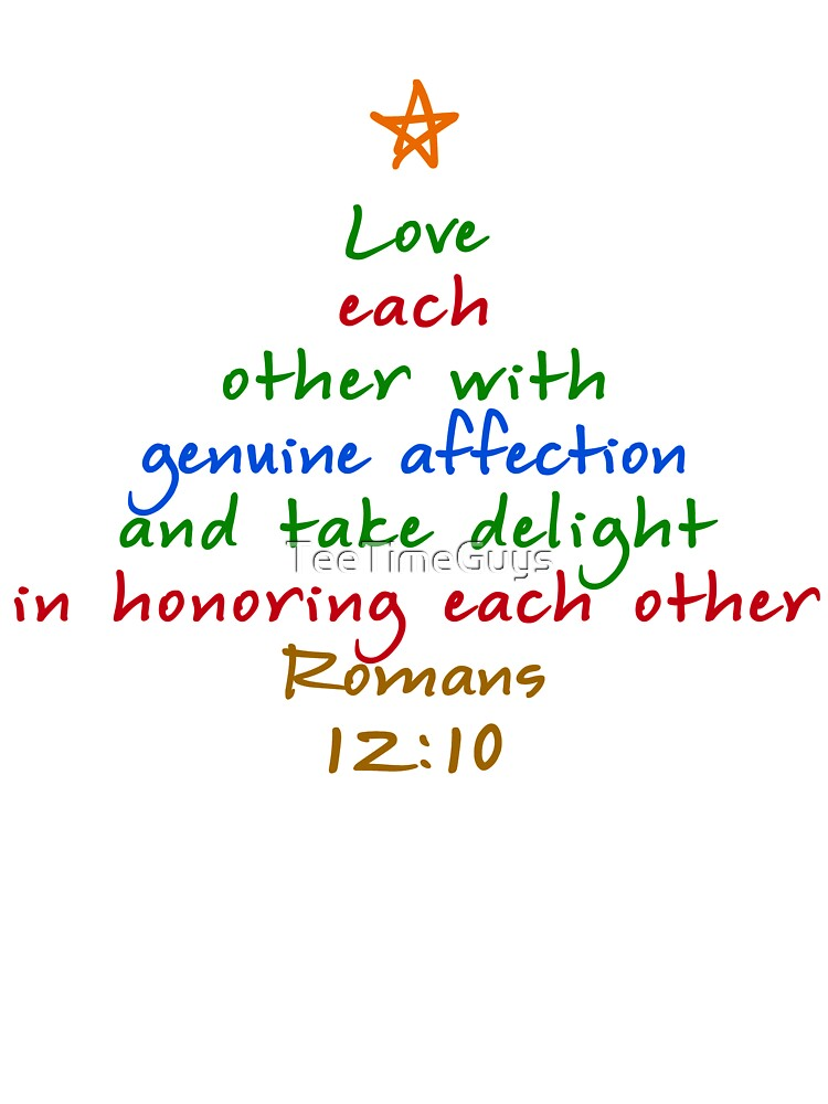 love each other romans