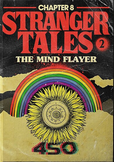Stranger Things Chapter 8 The Mind Flayer Posters by PaulyH  Redbubble