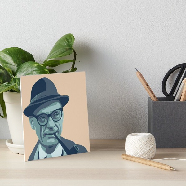 """henry Miller"" Art Boards Savantdesign Redbubble"