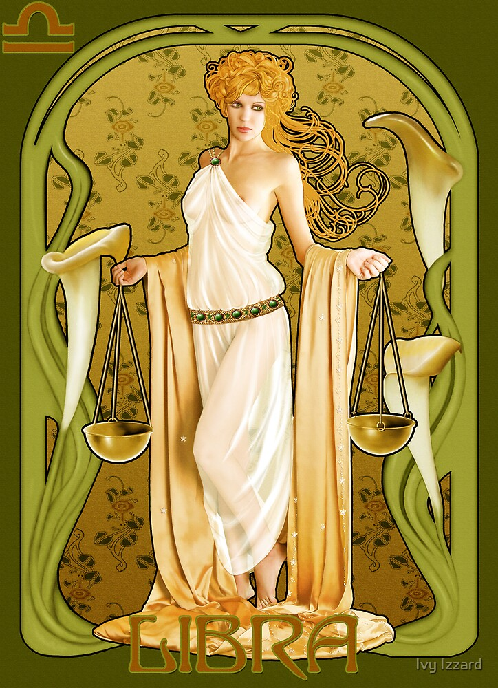 Libra by Ivy Izzard  Redbubble