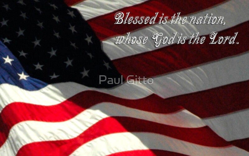 Blessed is the Nation Whose God is the Lord by Paul