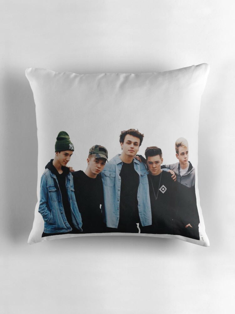 why dont we Throw Pillows by michelemcnulty  Redbubble