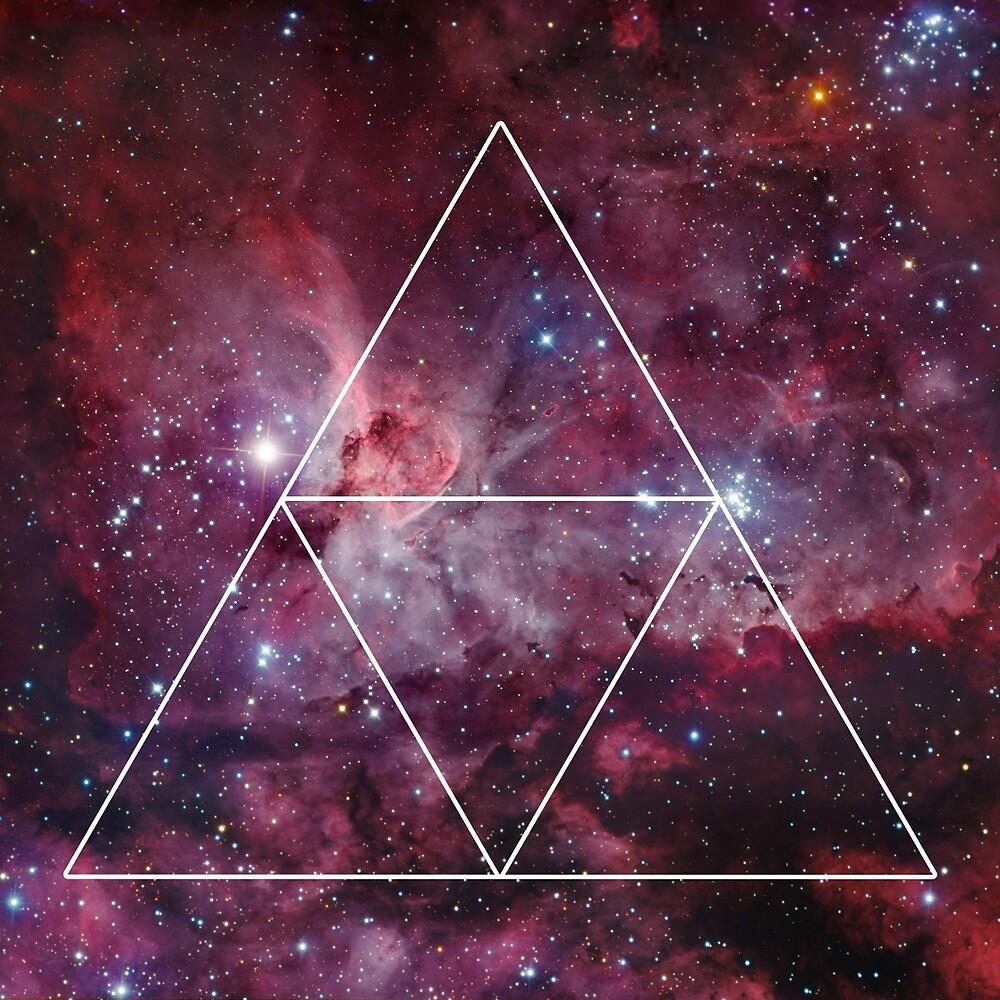 Triangle Nebula Galaxy Design By Nathan Southard Redbubble