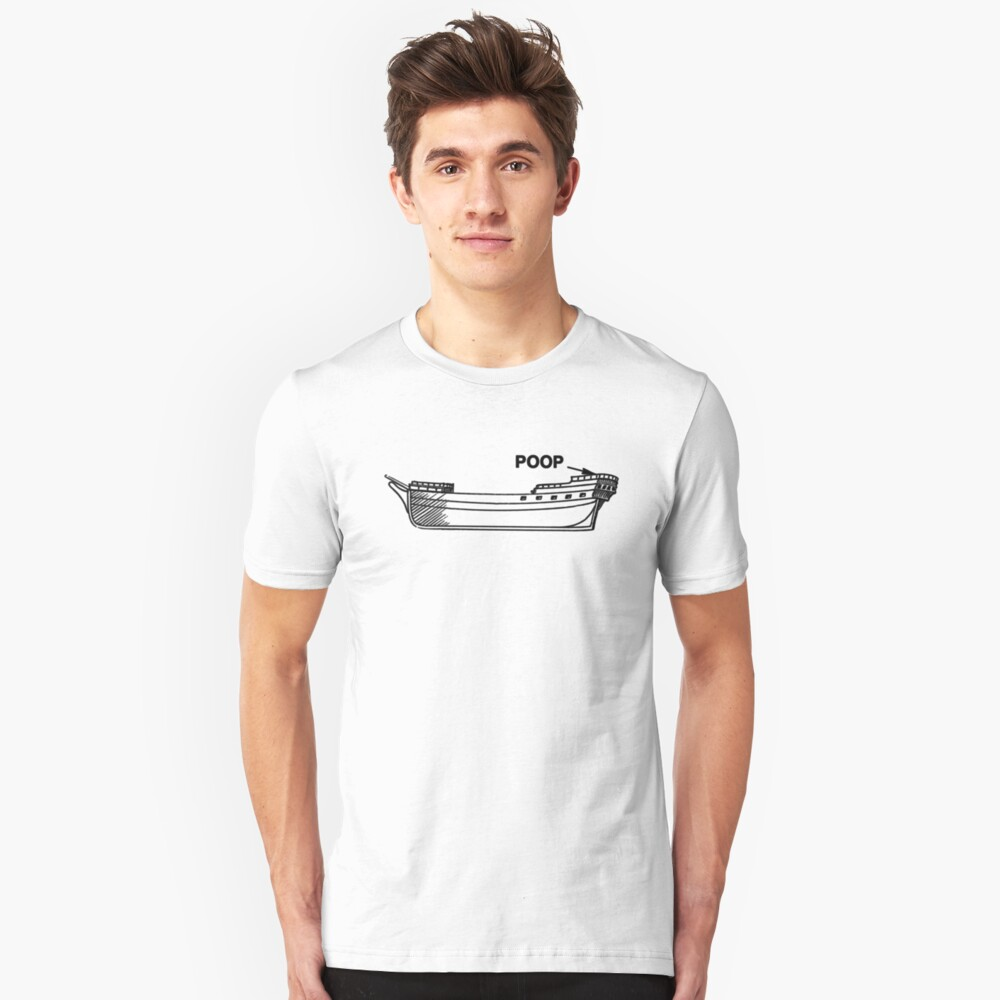 medium resolution of poop deck slim fit t shirt