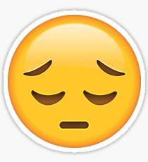 sad face emoji stickers