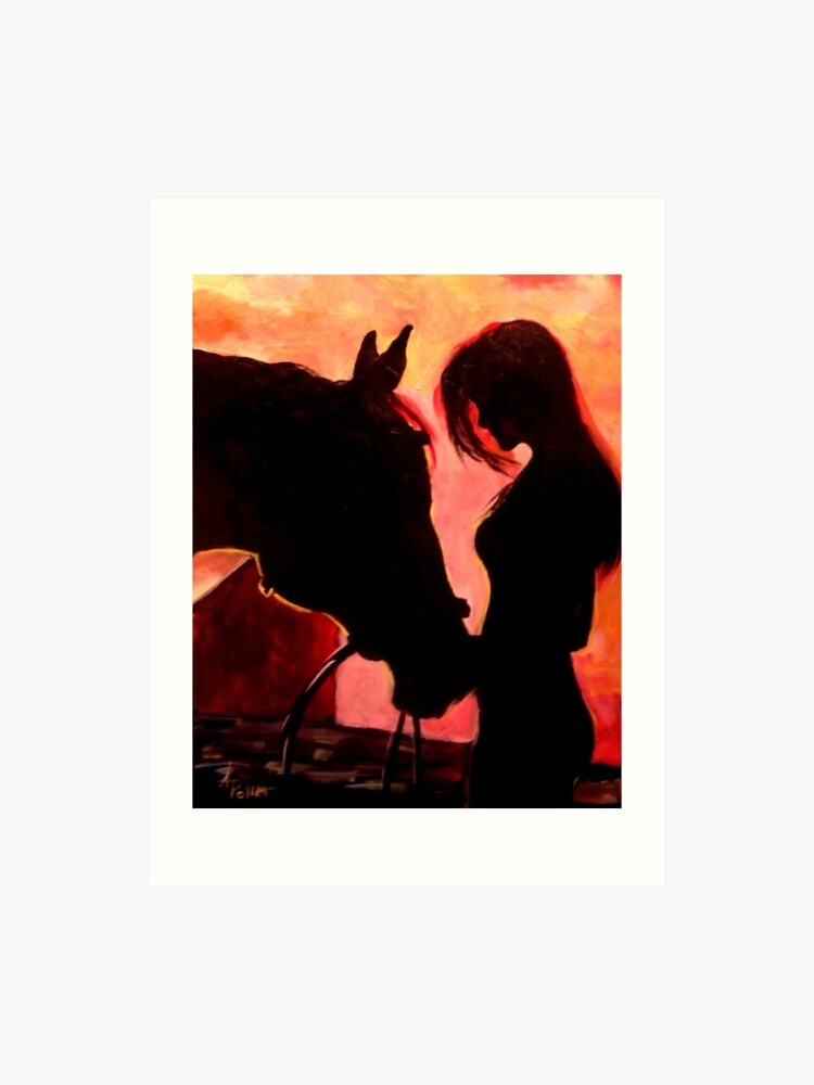 cowgirl horse western silhouette