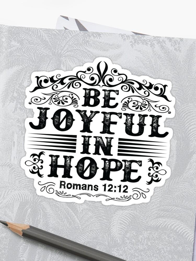 joy stickers joyful in