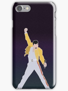 Freddie Mercury iPhone case