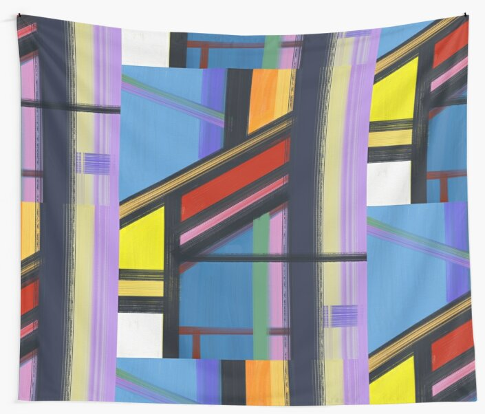 Windows Wall Tapestries by arievanderwyst  Redbubble