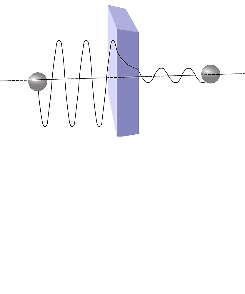 hight resolution of quantum tunnelling diagram physics quantum mechanics
