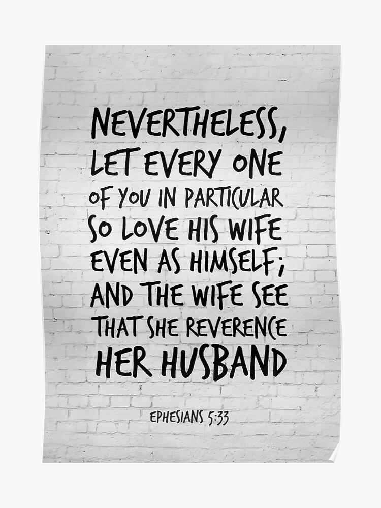 ephesians 5 33 bible