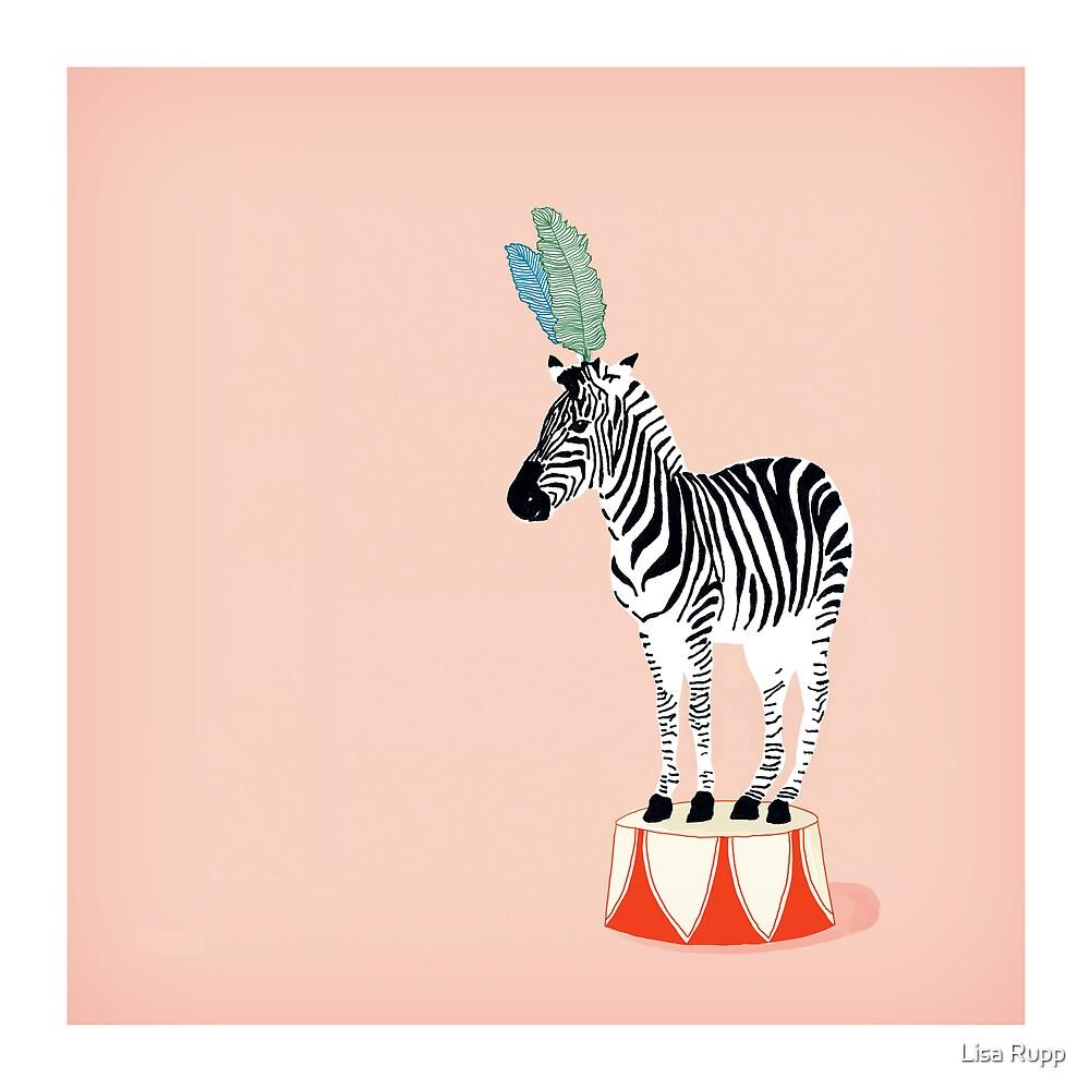 Circus Zebra by Lisa Rupp  Redbubble