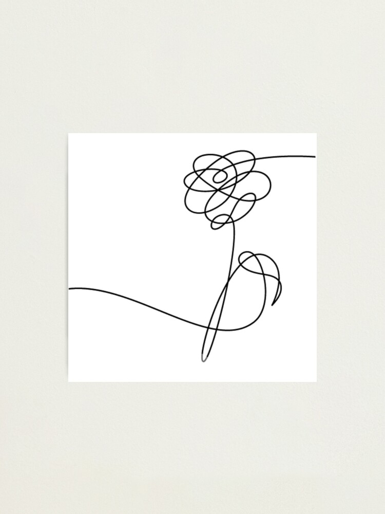 Download Drawing Love Yourself Bts Logo