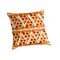 Pizza Emoji Pattern by Emoji Mania