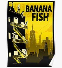 banana fish posters redbubble