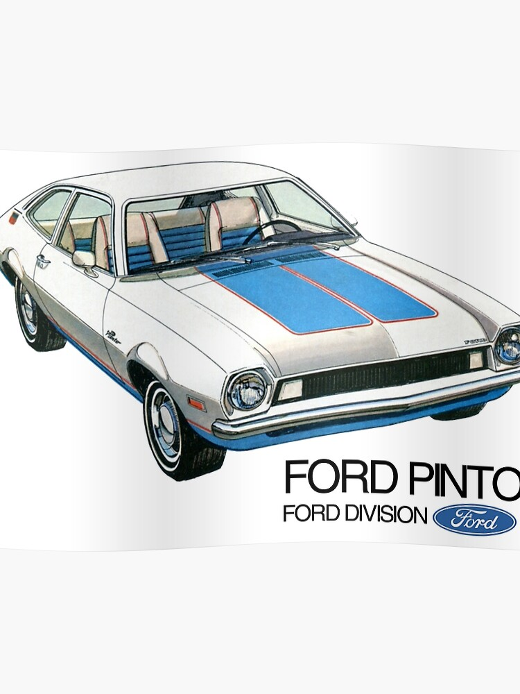 ford pinto poster