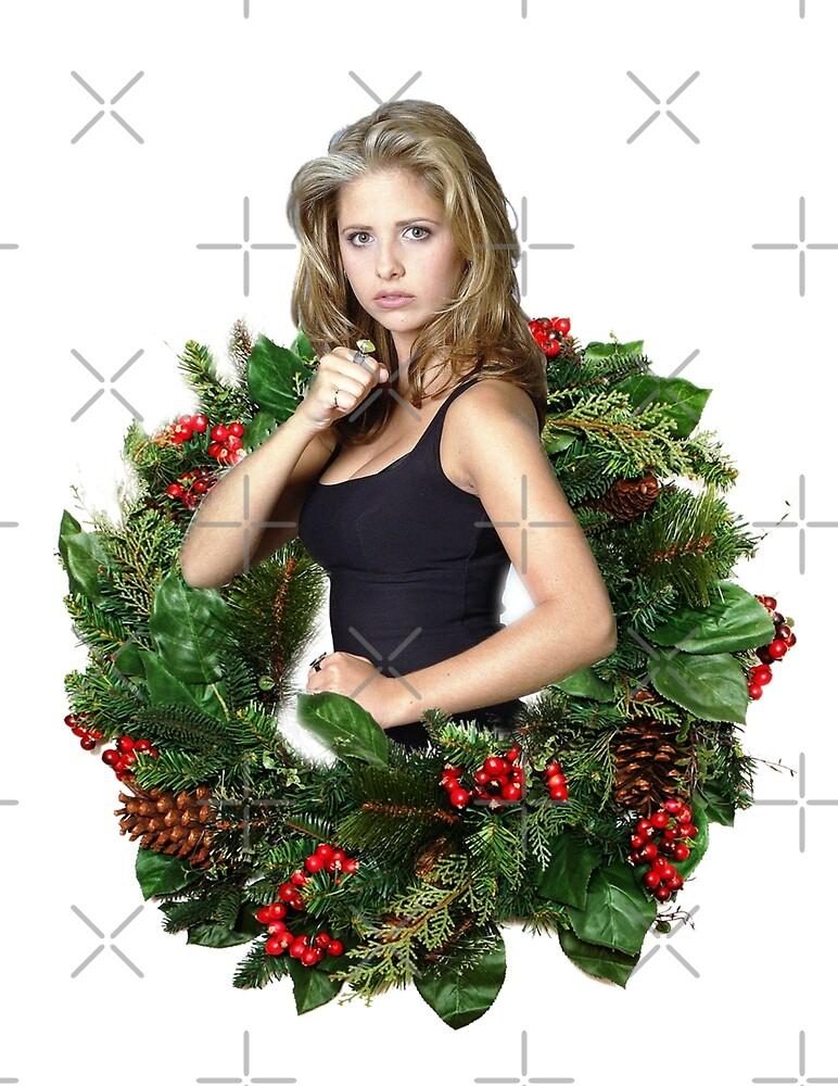 Buffy Christmas Ornaments