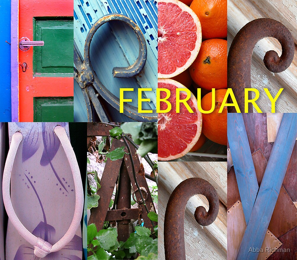February By Abba Richman Redbubble