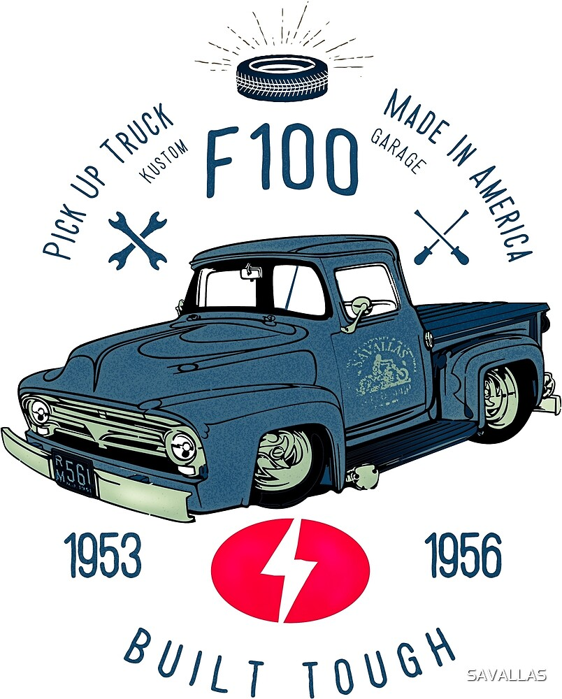 medium resolution of ford f100 truck built tough by savallas