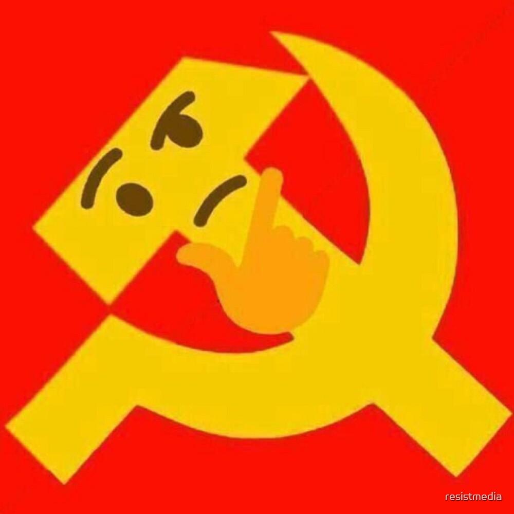 communist thinking emoji by