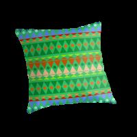 """Pleasure color"" Throw Pillows by Desenatorul1976"