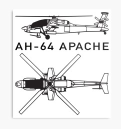ah 64 apache attack helicopter metal print by battlefield redbubble [ 1000 x 1000 Pixel ]