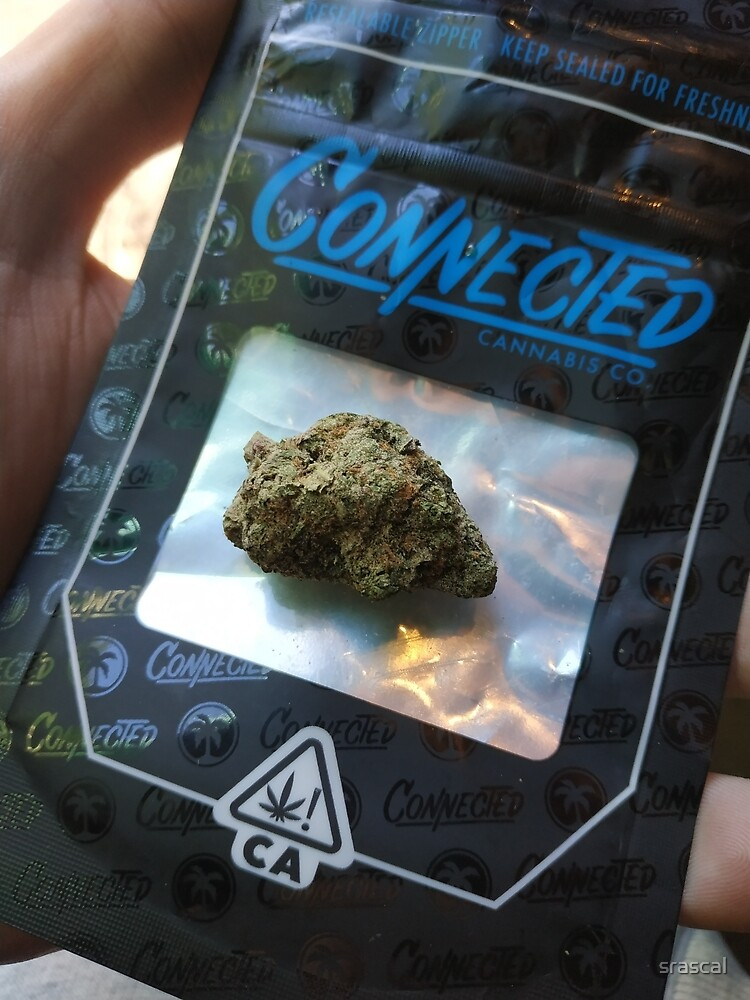Connected Cali gelato 41 cannabis pack 420 ganja by
