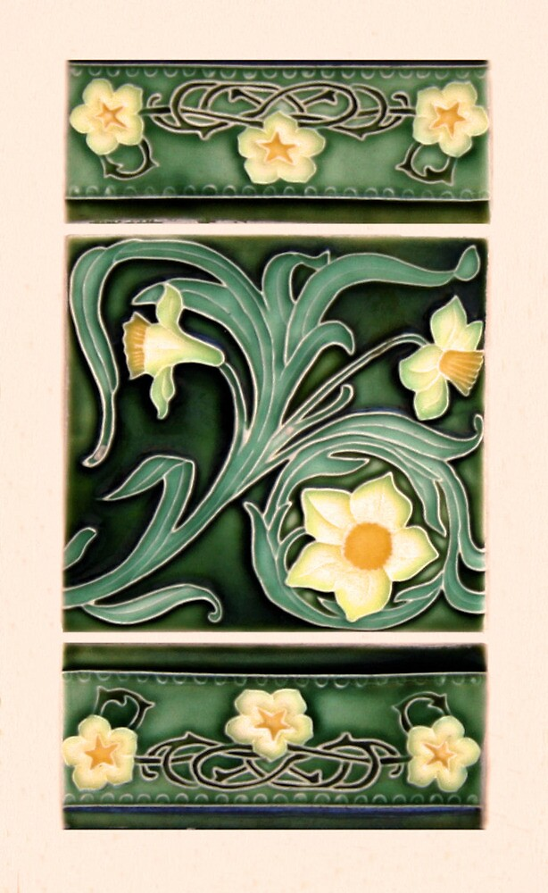 Ceramic Daffodils by Christopher Biggs  Redbubble