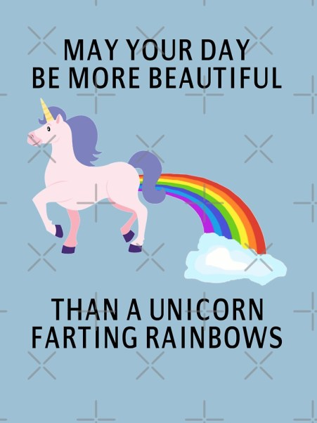 Image result for unicorns farting rainbows